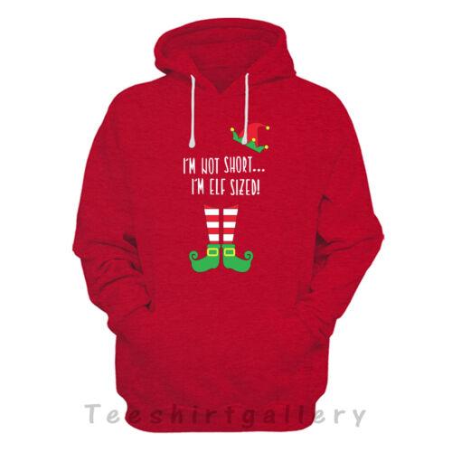 IM Not Corto IM ELF Dimensioni Con Cappuccio Regalo Babbo Natale Regalo di Natale con cappuccio