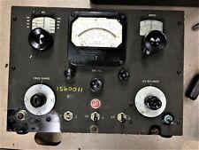 Vintage Boonton Radio Corp Q Meter 20 260 Mc Ham Radio Parts Repair