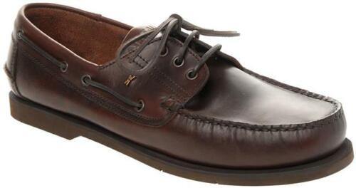 Walktall Tack Deck Shoe Dark Brown Big Mens UK Sizes Available