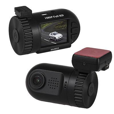 Mini 0801S HD 1080P Vehicle Car Security Dashcam GPS Crash Camera DVR New