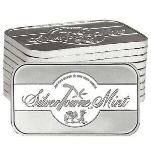 Fine Silver Bar Silvertowne
