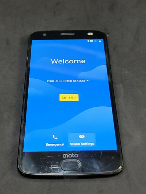 Motorola Moto Z2 Force - 64GB - Black (Unlocked) NOT burn marks or memory LCD