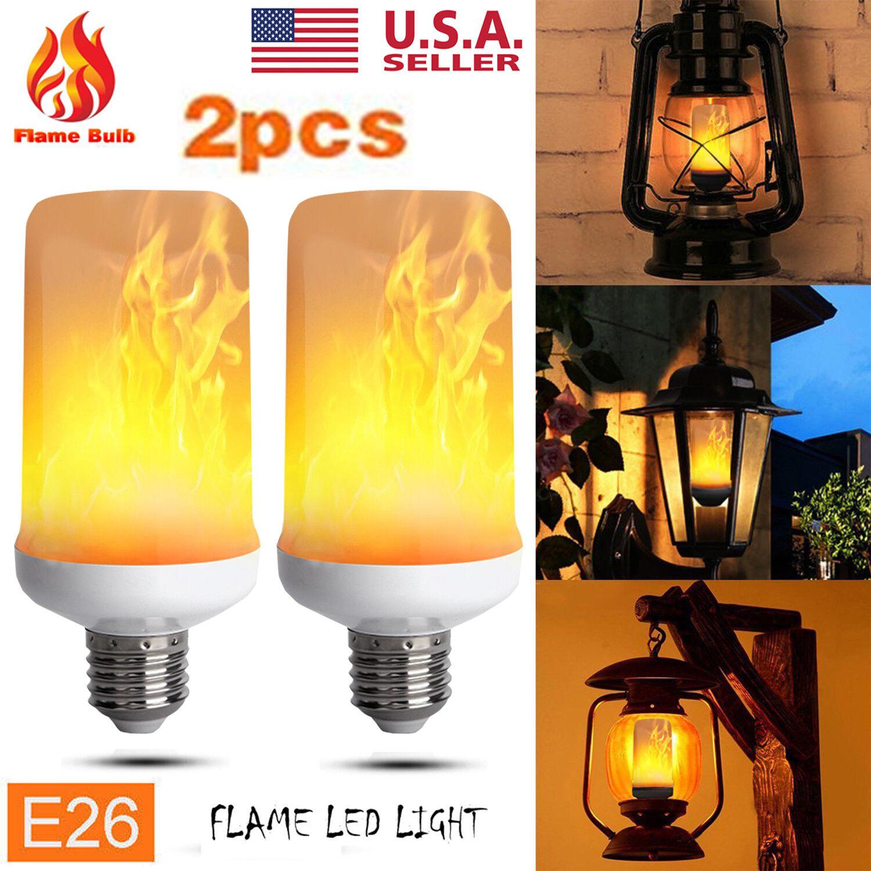 E27 led light bulbs ebay 1 2pcs 12w e27 led flicker flame fire effect light bulb christmas decor lamp hot parisarafo Choice Image