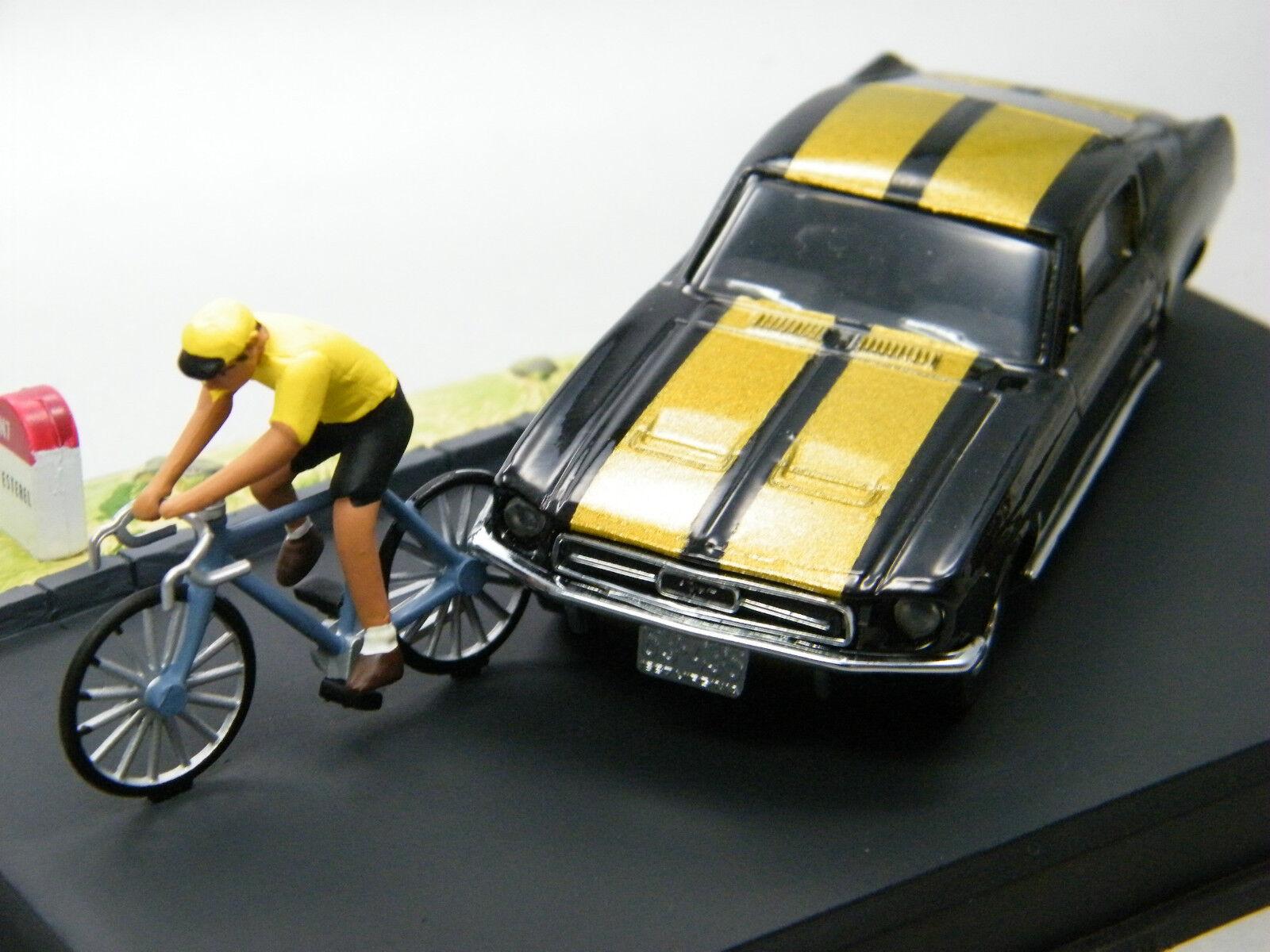 MATCHBOX DY diorama série dy-16 Mustang Noir 1v6 m 1 43 code 2 rare