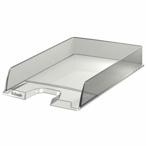 Esselte Briefkorb Europost Polystyrol glasklar stapelbar DIN A4 254x350x61mm