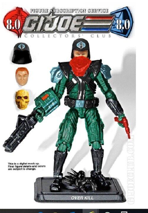 G.i. Joe FSS 8.0 Cobra B.A.T. Leader Figure by Hasbro