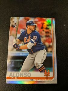 2019-Topps-Pete-Alonso-Rainbow-Foil-RC-Rookie-475-Mets-SP-NYM