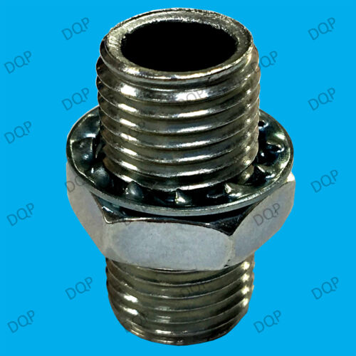 2x M13 Nuts Only; Secures M13 Allthread Tubing Threaded Rod Electrical Lamp
