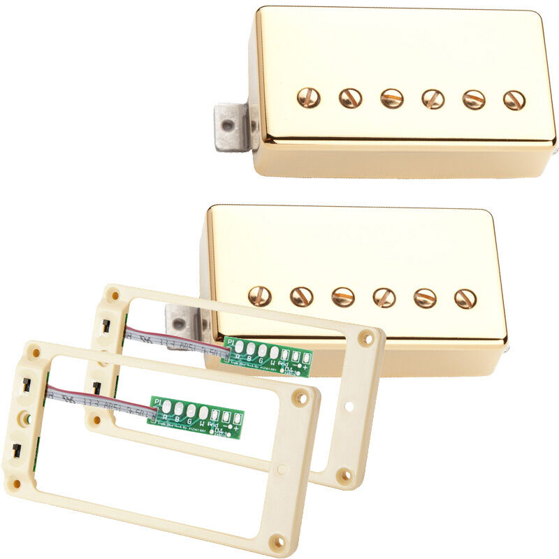 Seymour Duncan Hot Rodded Humbucker set Gold SH-2 SH-4 & TS-2 Triple Shot cream