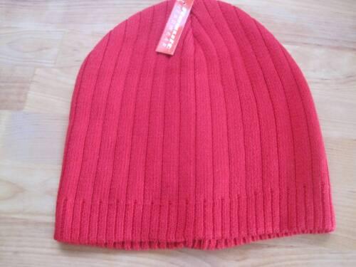 sin picor para pacientes de quimioterapia. Cálido Sombrero Rojo Damas Gorro de Lana Suave