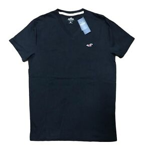 Hollister-By-Abercrombie-amp-Fitch-Mens-Must-Have-V-neck-T-Shirt-Tee-Free-Shipping