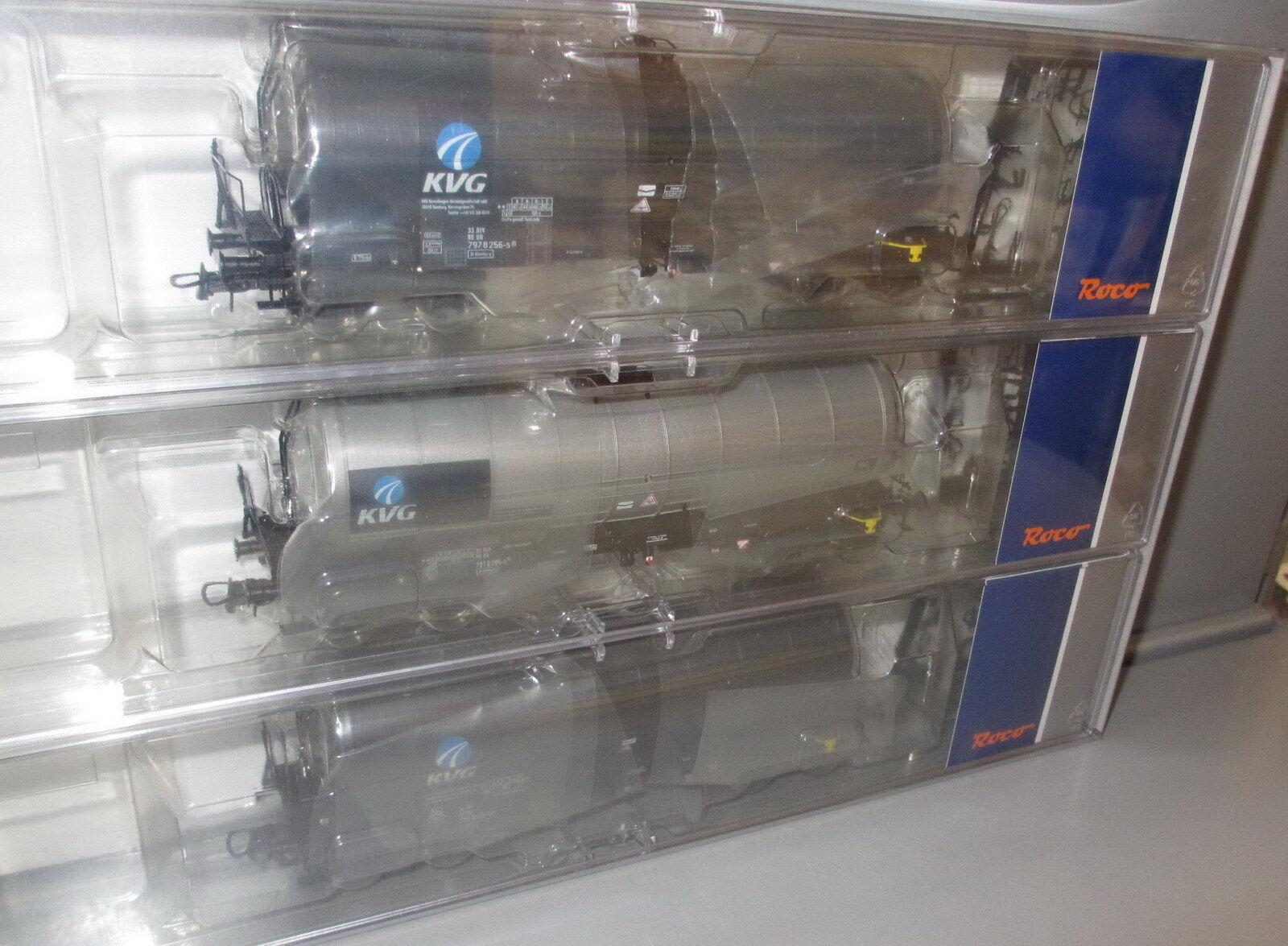 Roco h0 76156 DB quiebro vagones-set _ KVG _ PE  V