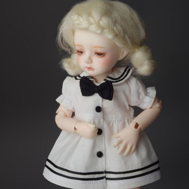 Black Dollmore Mono Panty Stocking 1//6 BJD YOSD USD  Dear Doll Size