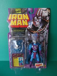 Dreadknight w// Firing Lance Iron Man Marvel ToyBiz 1995 Action Figure NEW