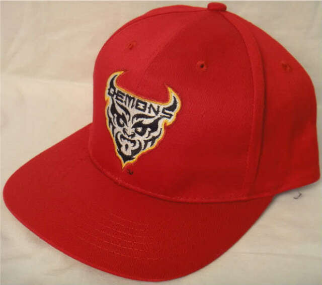 size 40 5417c e1fec XFL SAN FRANCISCO DEMONS SNAPBACK YOUTH HAT CAP