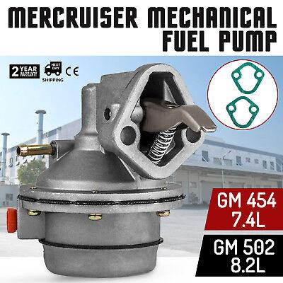 Mercruiser 454 502 FUEL PUMP MERCURY MARINE 7.4L 420 425 GEN V 454 MAGNUM BRAVO