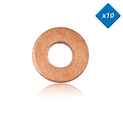Onesto Joint Cuivre Injecteur - 7,3x16 - 307, Serie 3 , X10 - (198196) - 3rg Scelta Materiali