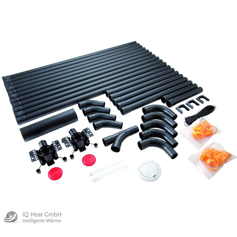 Allaway Grundpaket 2511 PPK 44 3 Premium für Zentralstaubsauger Staubsauger Rohr