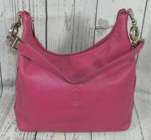 Smith-amp-Canova-Pink-soft-Leather-Shoulder-Tote-bucket-Bag