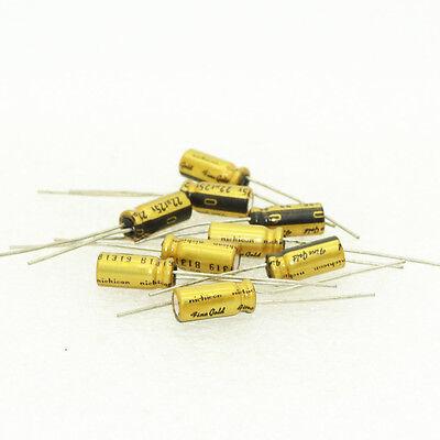 6136 10pcs For Nichicon FG 22uF//25V 5*11mm Audio Electrolytic Capacitor