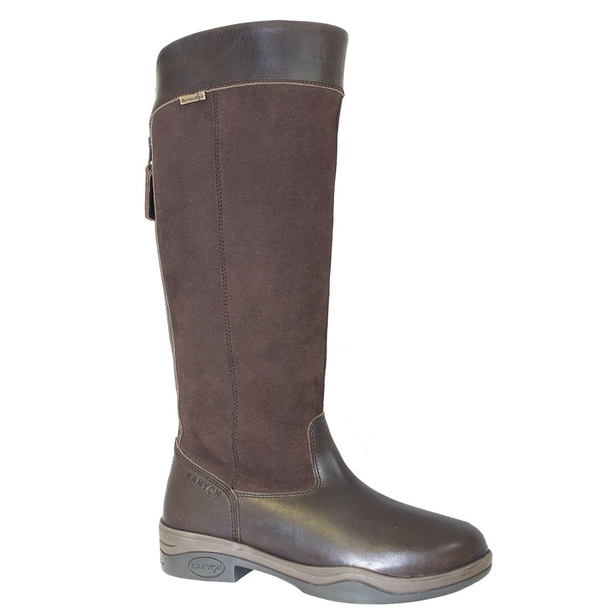 Kanyon Clydesdale confortevole in in in Pelle Impermeabili Donna Stivali Cavallerizza Equina 6d2f79