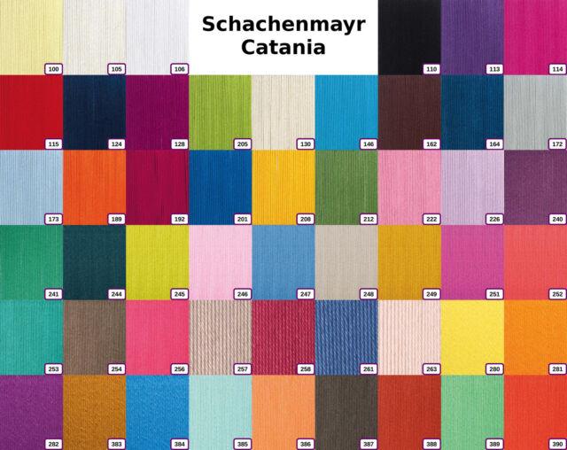 Schachenmayr Catania 50g | 100% Baumwolle Farben bis 2014| GP 38EUR/kg | 9801210