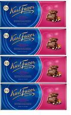 FAZER Karl Fazer Raisin & hazelnuts in milk chocolate 4 x 200 g (4 pcs)