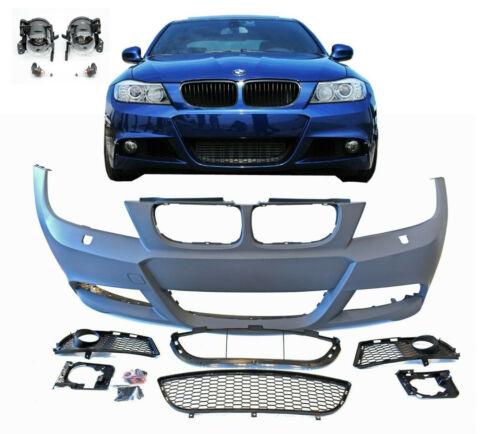 Stoßstange Vorne BMW 3er E90 E91 M Paket 08-12 LCI LIMO TOURING NSW SRA kein PDC