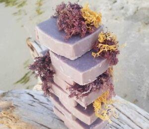Handcrafted-Purple-Irish-Sea-Moss-Soap-Vegan-All-natural-Cold-process
