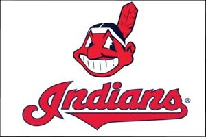Cleveland Indians Baseball Chief Logo Replica Fridge Magnet New