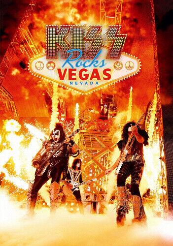 Kiss Rocks Vegas Ltd Booklet One Pressing Only.