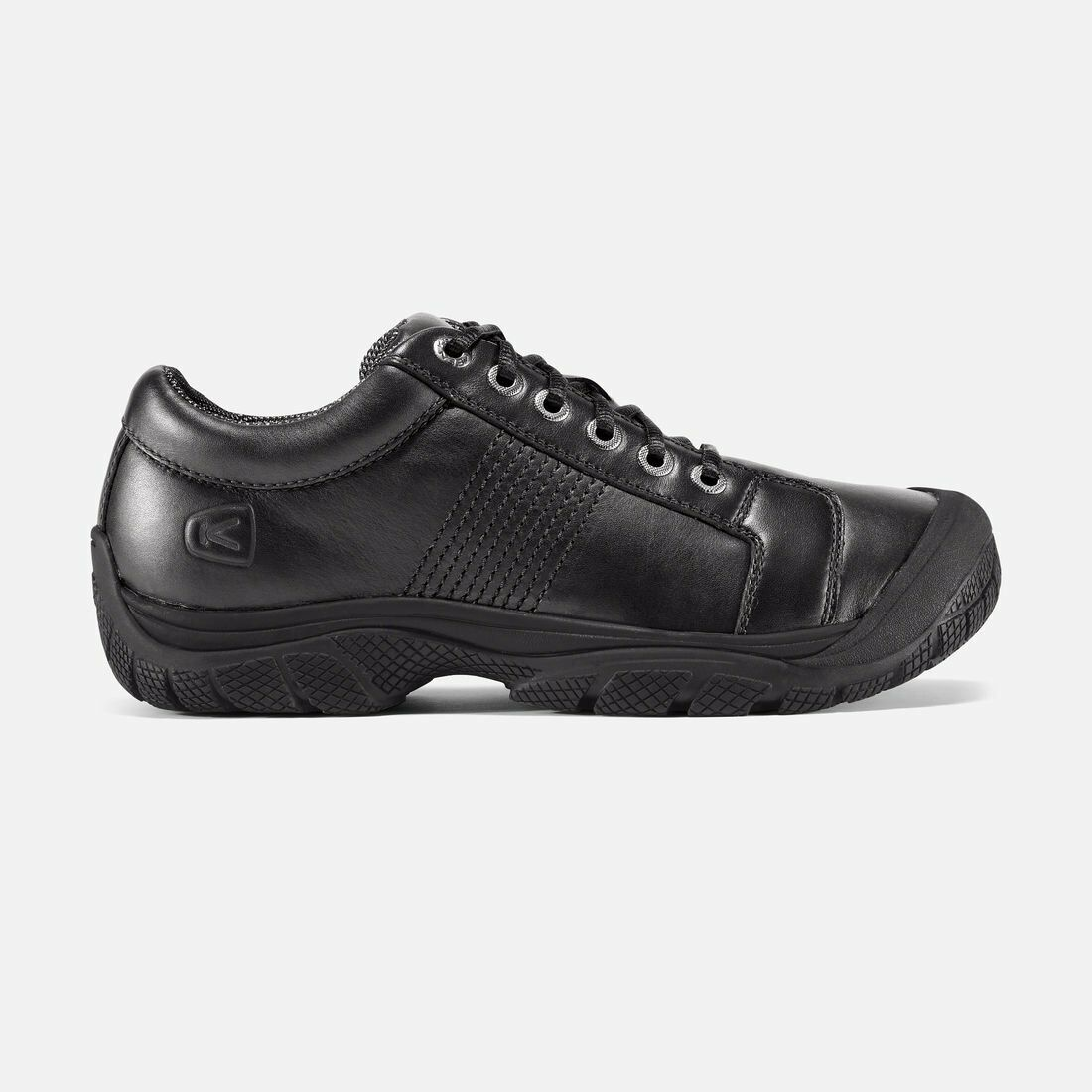 Mens KEEN Utility PTC Soft-Toe Black Oxford  12 D