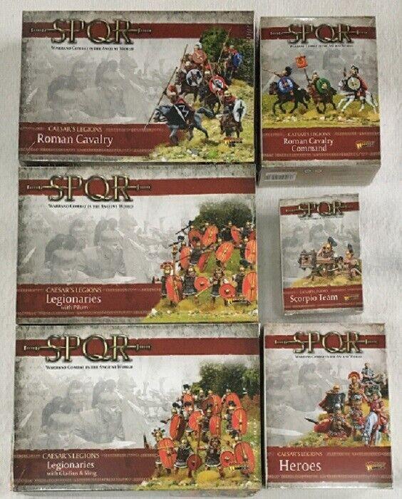 Warlord Games SPQR Roman Sealed 6 Box Bundle Starter Set