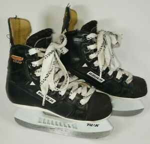 Bauer-Supreme-6500-Ice-Hockey-Skates-Youth-Size-11-5-D-Canada-Good-Condition