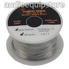 CARDAS AUDIO Soldering Wire Silver Quad Eutectic Solder w flux rosin 1/4 lb 110g