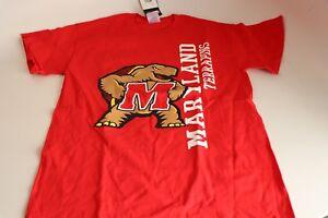 MEN-039-S-NCAA-Maryland-Terrapins-Short-Sleeve-T-Shirt-Size-S