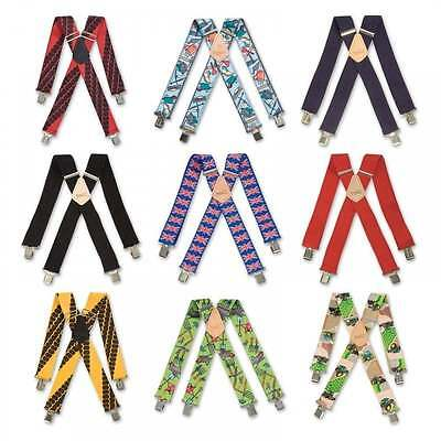 "Brimarc Mens Heavy Duty Braces Trouser Belt Suspender 2/"" 50mm Wide Garden Tools"