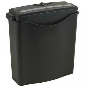 Texet-A4-Paper-Electric-Shredder-Strip-Cut-Shredding-Card-Document-Bin-PS-SC1