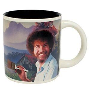 Bob-Ross-Mug-Painting-Appears-Heat-Activated-Collectible-Mug-Art-Painter