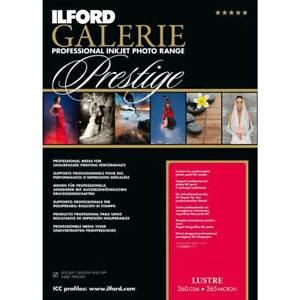 Ilford GALERIE Prestige Lustre, IGPLP DIN A4, 25 Blatt, 260 g/qm