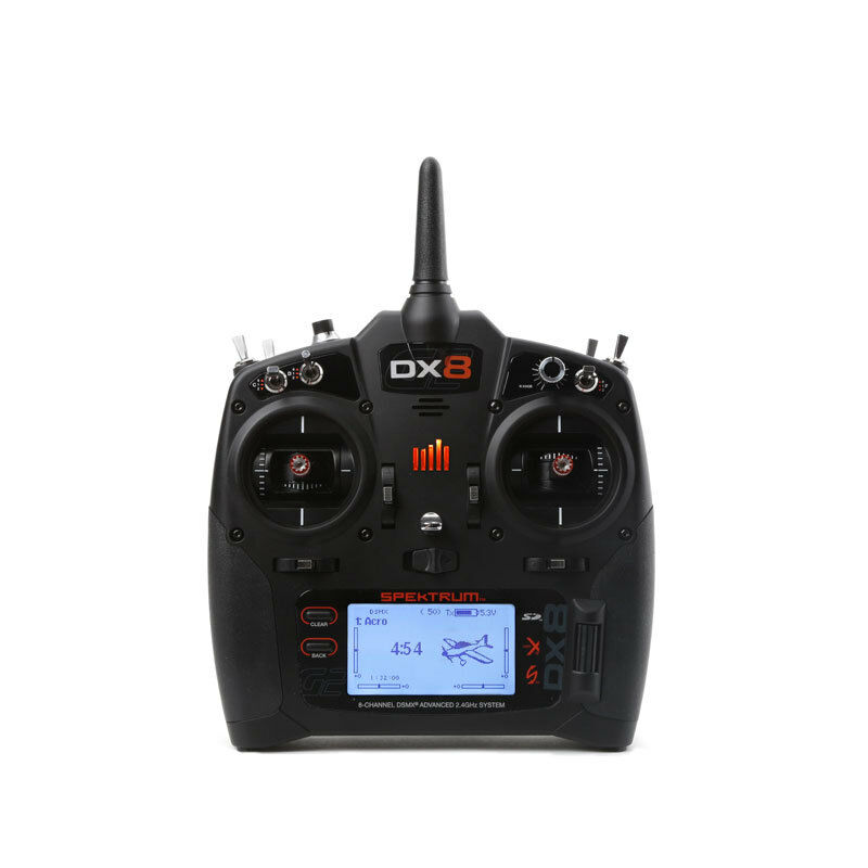 Spektrum DX8 G2 8-Channel DSMX (Multimode) SPMR8000EU Transmitter Only