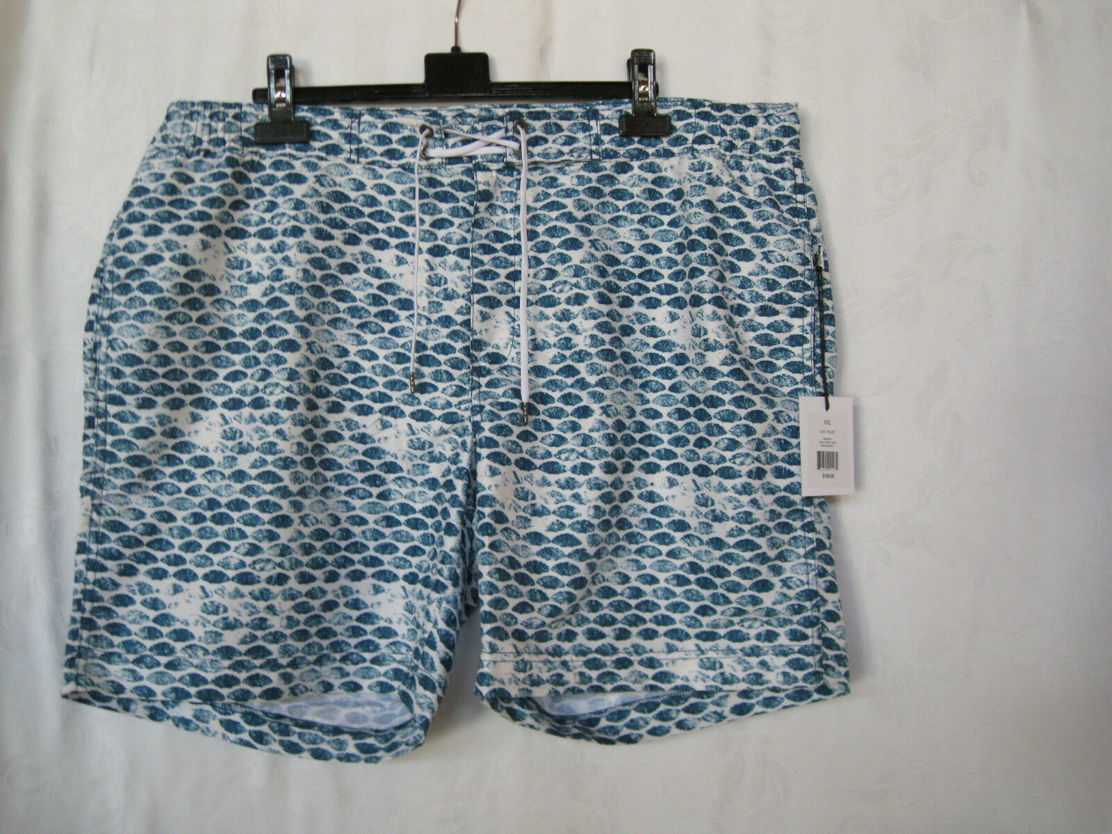 ONIA MENS ALEK 7 TRUNKS SHELL STAMP LYONS PRINT, MSRP  , 2XL-NWT-AUTHENTIC