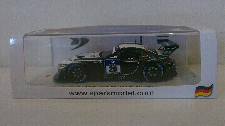 SPARK BMW Z4 GT3 SPORTS TROPHY 24HRS NURBURGRING 2014  1 43 SCALE SG133