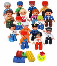 Community Figures Set Lego Duplo Compatible(16 Pcs)