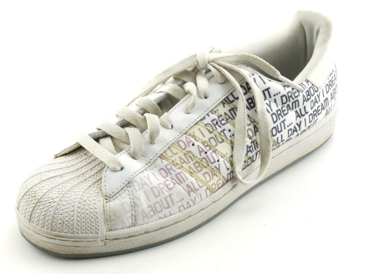 EXC White ADIDAS 'ALL DAY I DREAM ABOUT...' Ombre Running Fashion Sneakers 9.5 Special limited time