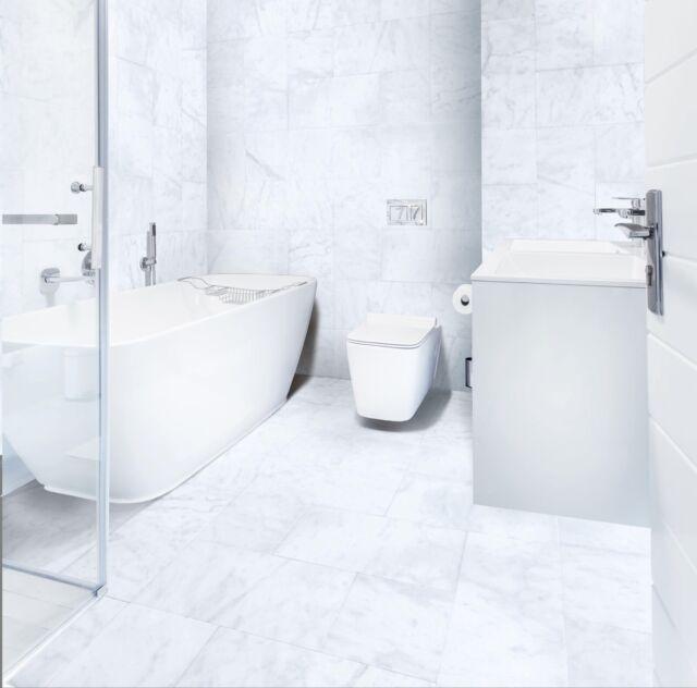Tile Mosaic Water Jet Carrara Marble