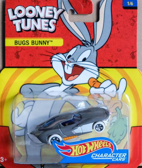 Looney Tunes BUGS BUNNY  1:64 Hot Wheels DXT11 DMH73