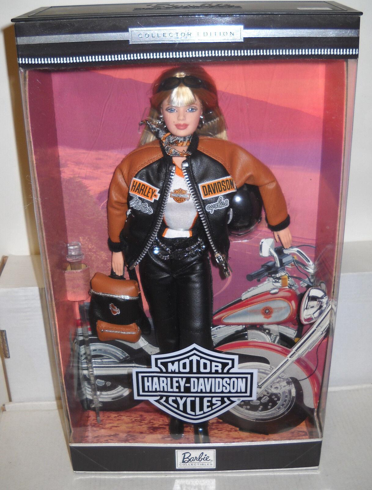 NRFB Mattel Harley Davidson Barbie Collector Edition