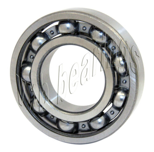6002 Deep Groove Open Ball Bearing Low Friction Separated Balls Steel Cage