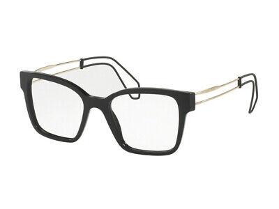 100% Vero Occhiali Da Vista Montatura Miu Miu Autentici Mu 02pv Nero 1ab1o1 Servizio Durevole